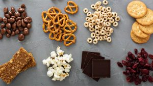 The Best Snacks to Eat While Chatting Online